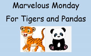 Monday Learning for Tigers and Pandas